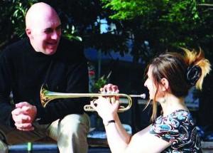 Dúo de trompeta y piano - Adriana Kahn y Ricardo Nolé