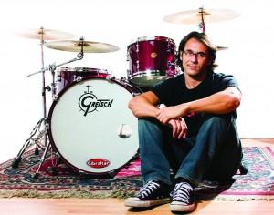 El baterista en el estudio - Silvio Ottolini