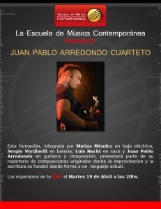 Juan Pablo Arredondo Cuarteto