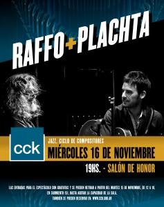 Raffo + Plachta en el CCK