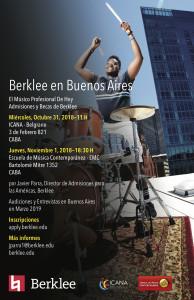 Berklee en Buenos Aires 2018